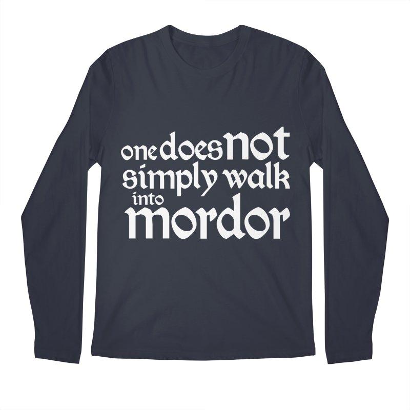 One does not simply Men's Regular Longsleeve T-Shirt by Synner Design
