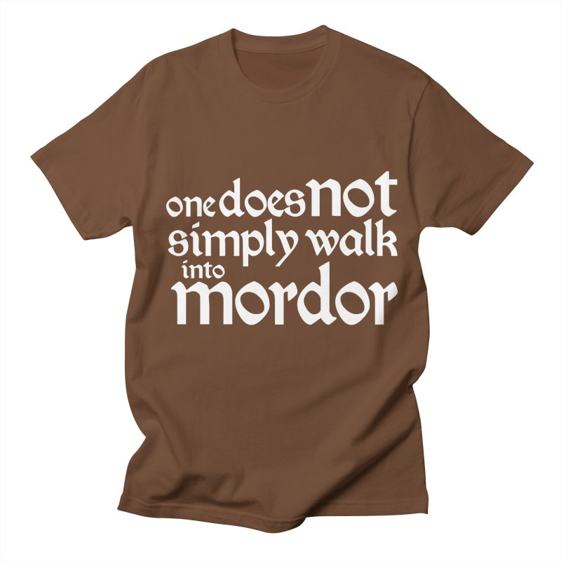 One does not simply Men's Regular T-Shirt by Synner Design