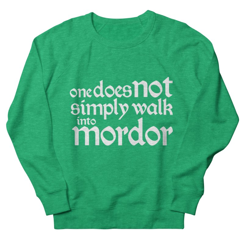 One does not simply Men's Sweatshirt by Synner Design