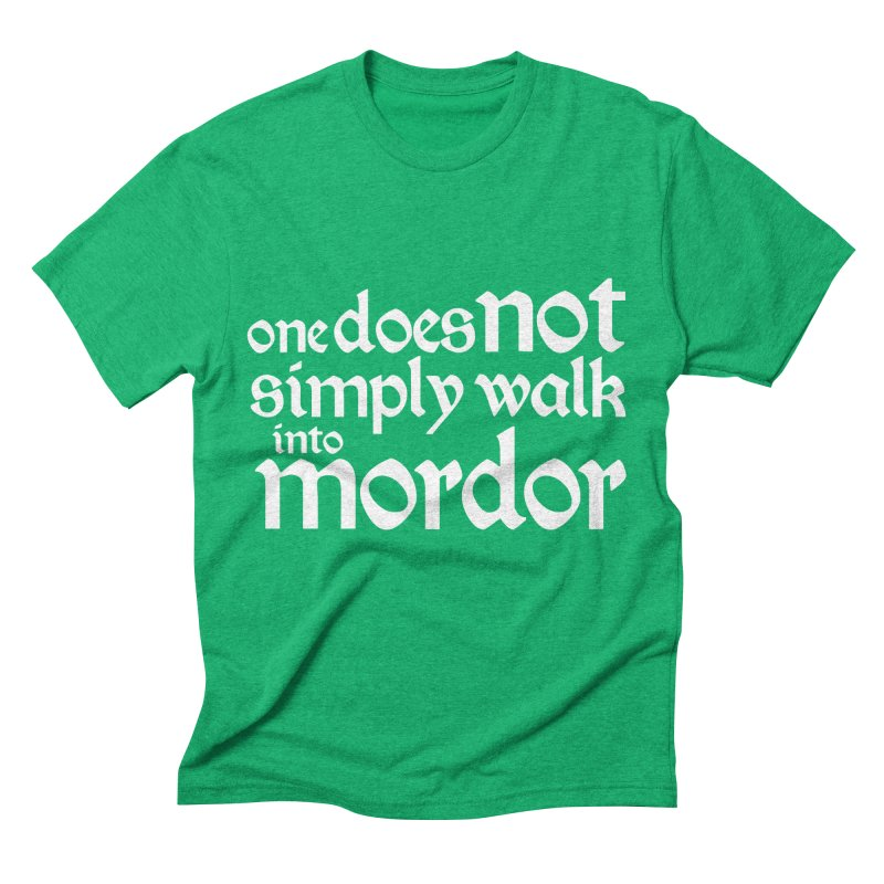 One does not simply Men's Triblend T-Shirt by Synner Design