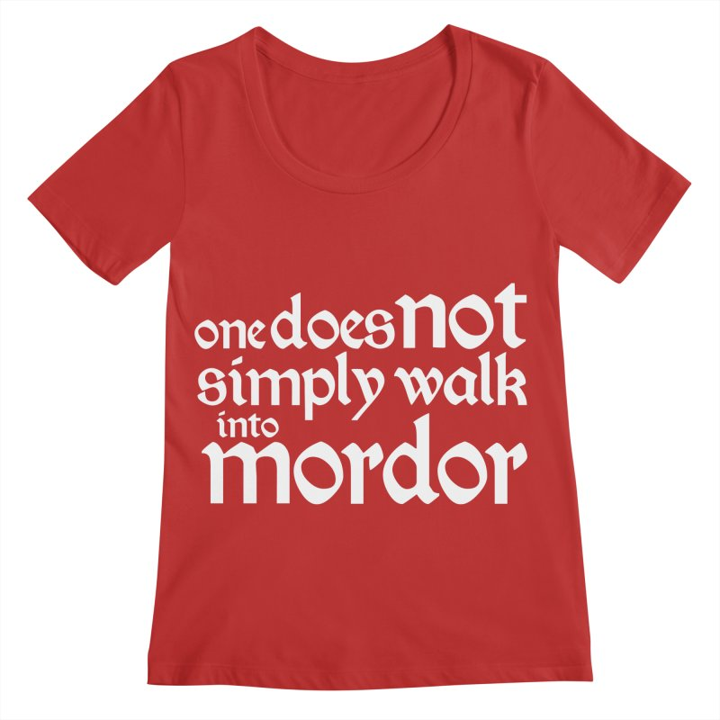 One does not simply Women's Regular Scoop Neck by Synner Design