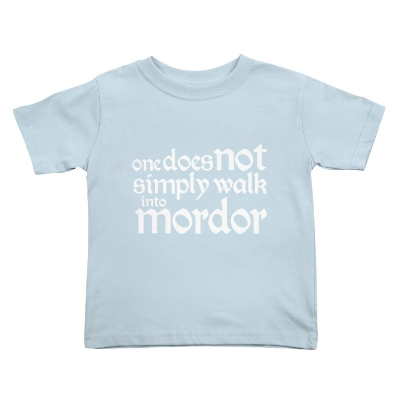 One does not simply Kids Toddler T-Shirt by Synner Design