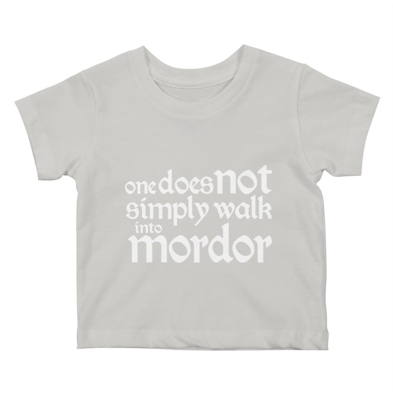 One does not simply Kids Baby T-Shirt by Synner Design