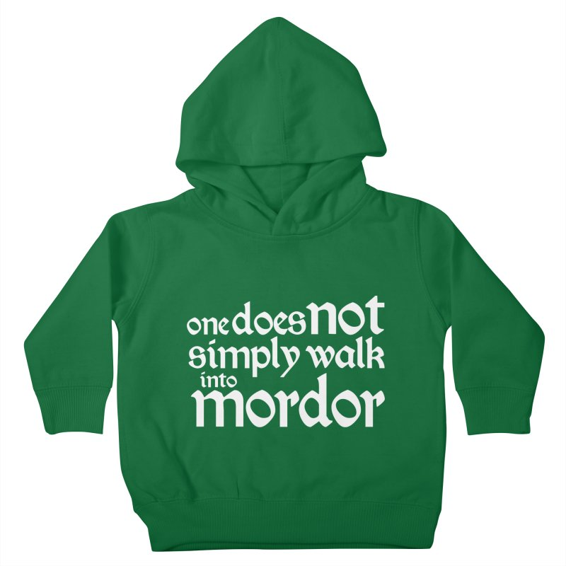 One does not simply Kids Toddler Pullover Hoody by Synner Design