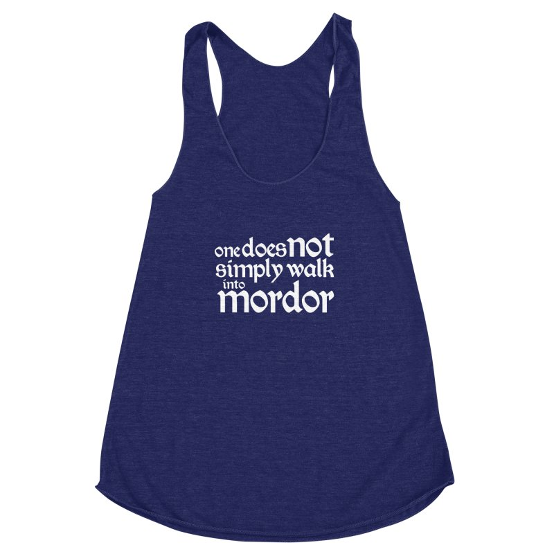 One does not simply Women's Racerback Triblend Tank by Synner Design
