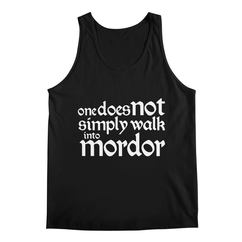 One does not simply Men's Regular Tank by Synner Design