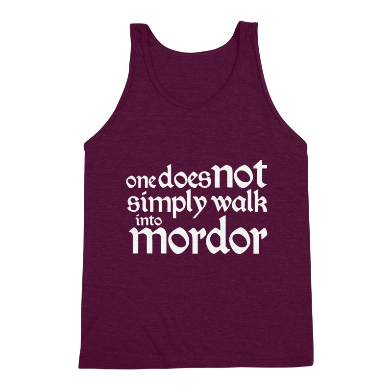 One does not simply Men's Triblend Tank by Synner Design