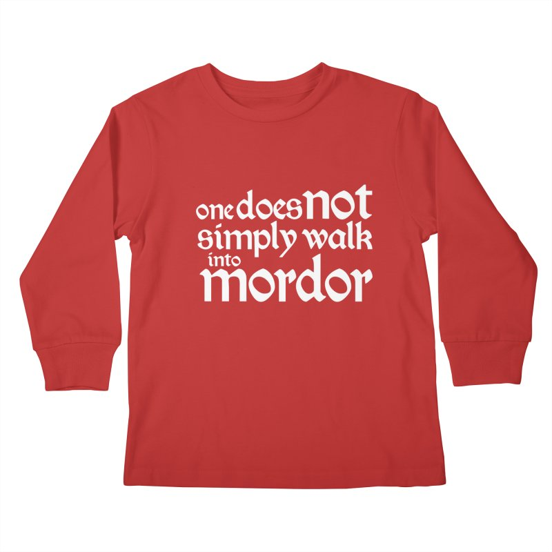 One does not simply Kids Longsleeve T-Shirt by Synner Design