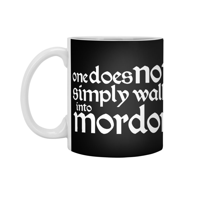 One does not simply Accessories Standard Mug by Synner Design
