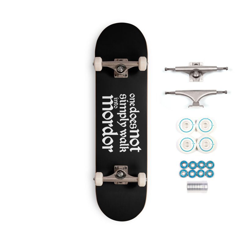 One does not simply Accessories Complete - Basic Skateboard by Synner Design