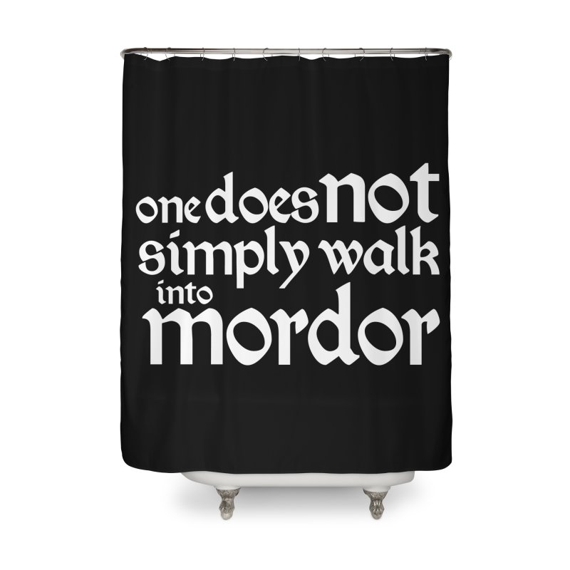 One does not simply Home Shower Curtain by Synner Design