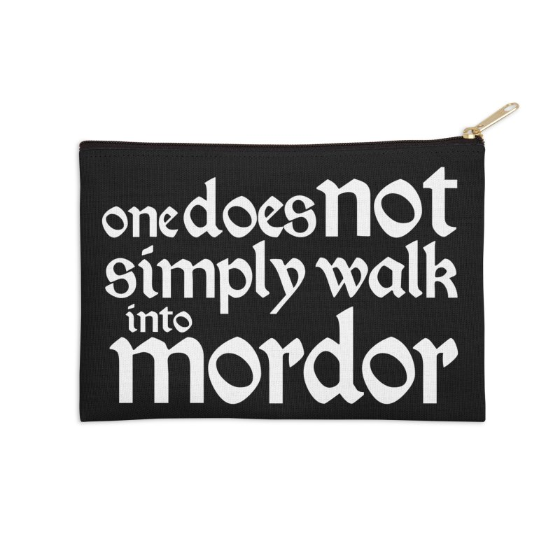One does not simply Accessories Zip Pouch by Synner Design