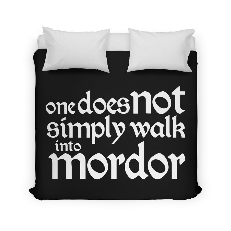 One does not simply Home Duvet by Synner Design