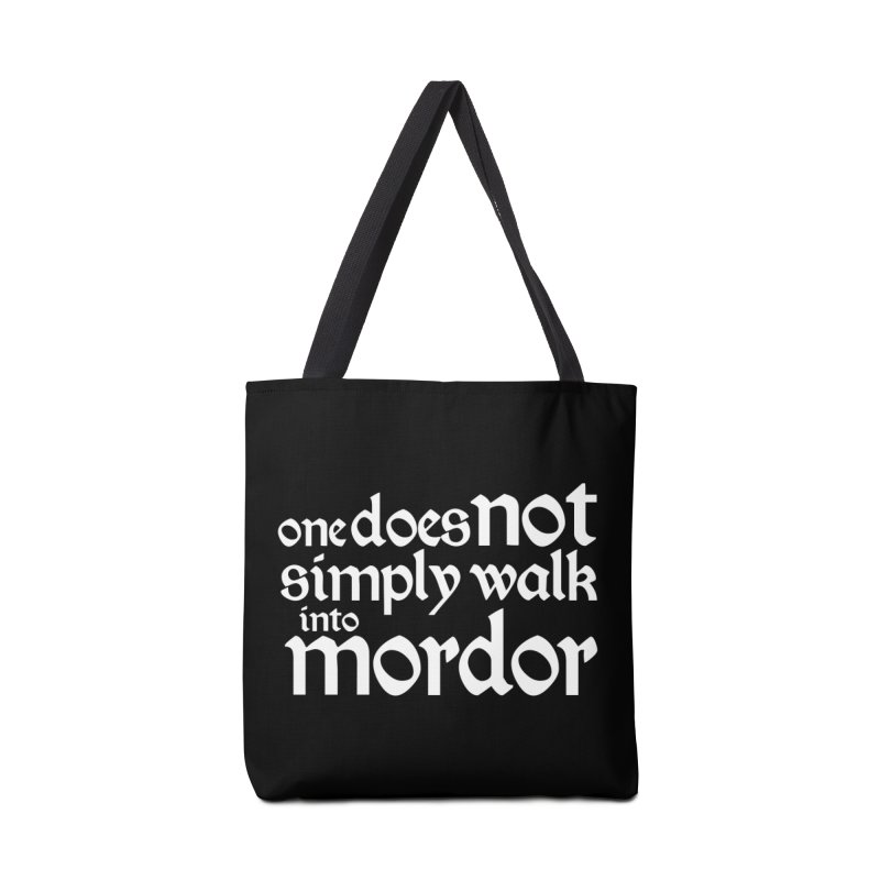 One does not simply Accessories Tote Bag Bag by Synner Design