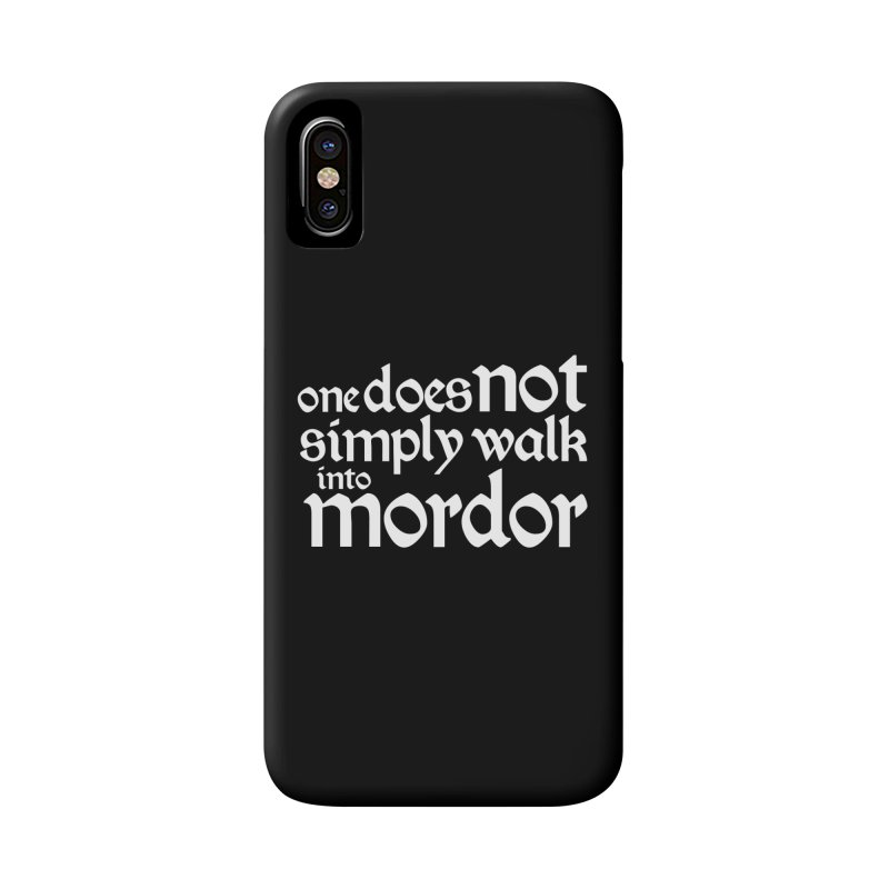 One does not simply Accessories Phone Case by Synner Design