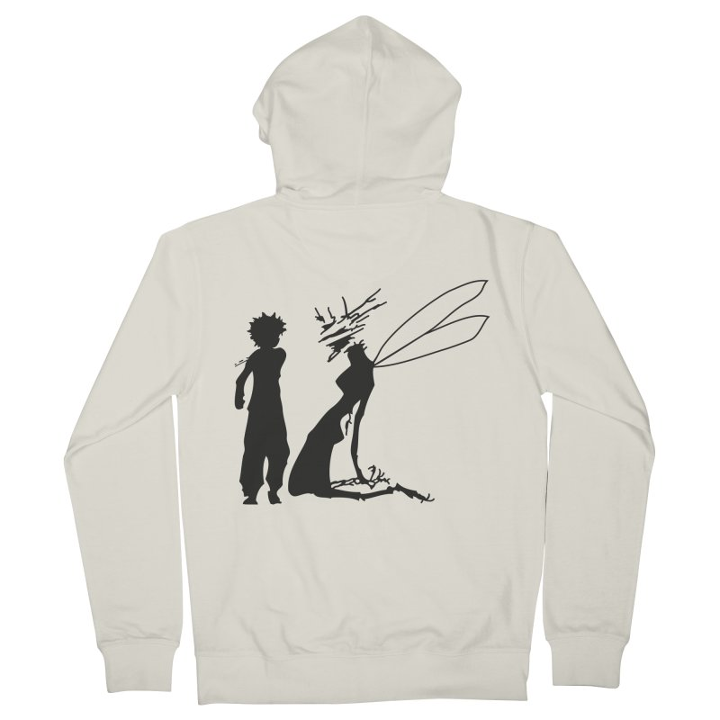 Killua kills Men's French Terry Zip-Up Hoody by Synner Design