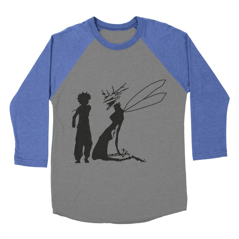 Killua kills Women's Baseball Triblend Longsleeve T-Shirt by Synner Design