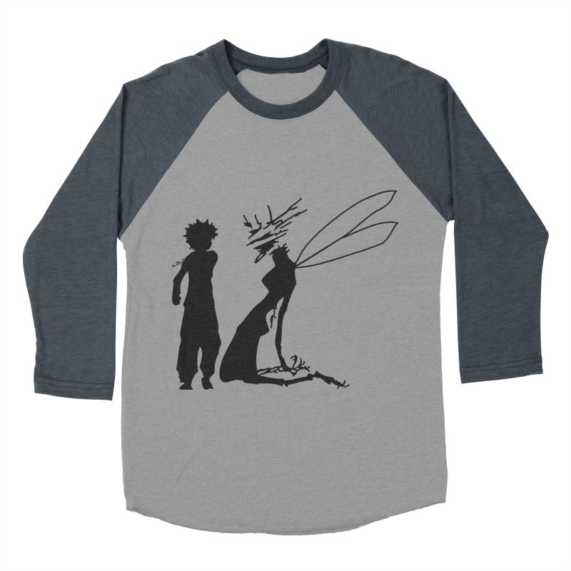 Killua kills Women's Baseball Triblend T-Shirt by Synner Design