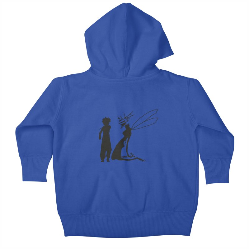 Killua kills Kids Baby Zip-Up Hoody by Synner Design