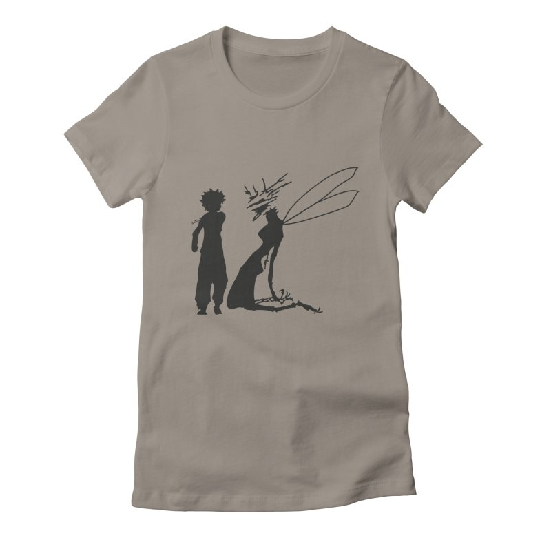 Killua kills Women's Fitted T-Shirt by Synner Design