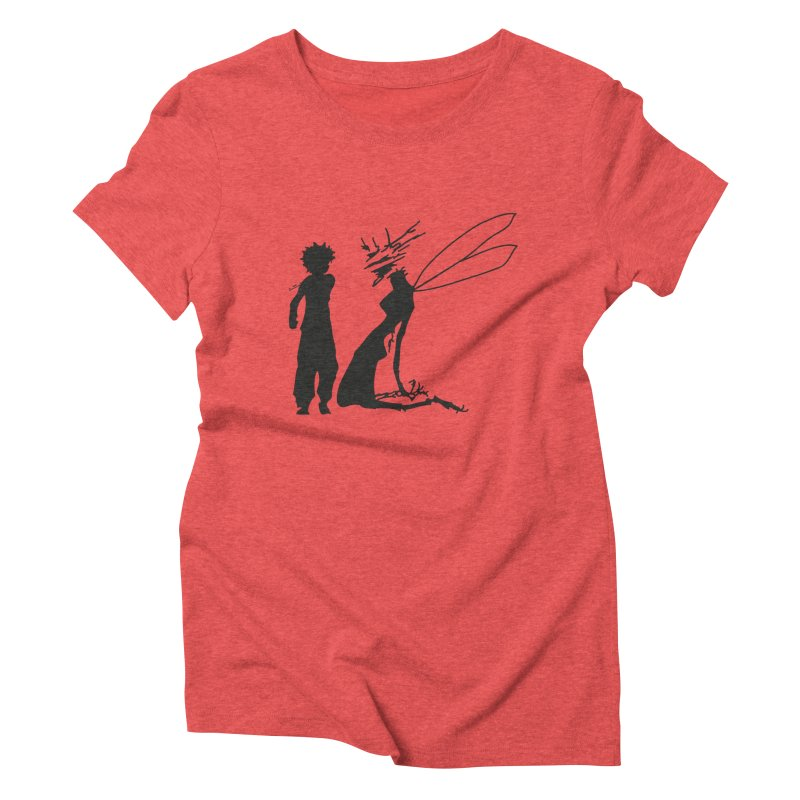 Killua kills Women's Triblend T-shirt by Synner Design