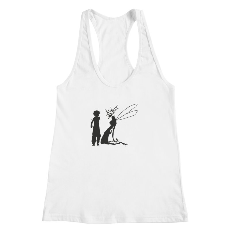 Killua kills Women's Racerback Tank by Synner Design