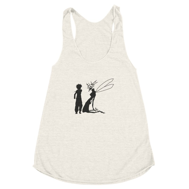 Killua kills Women's Racerback Triblend Tank by Synner Design