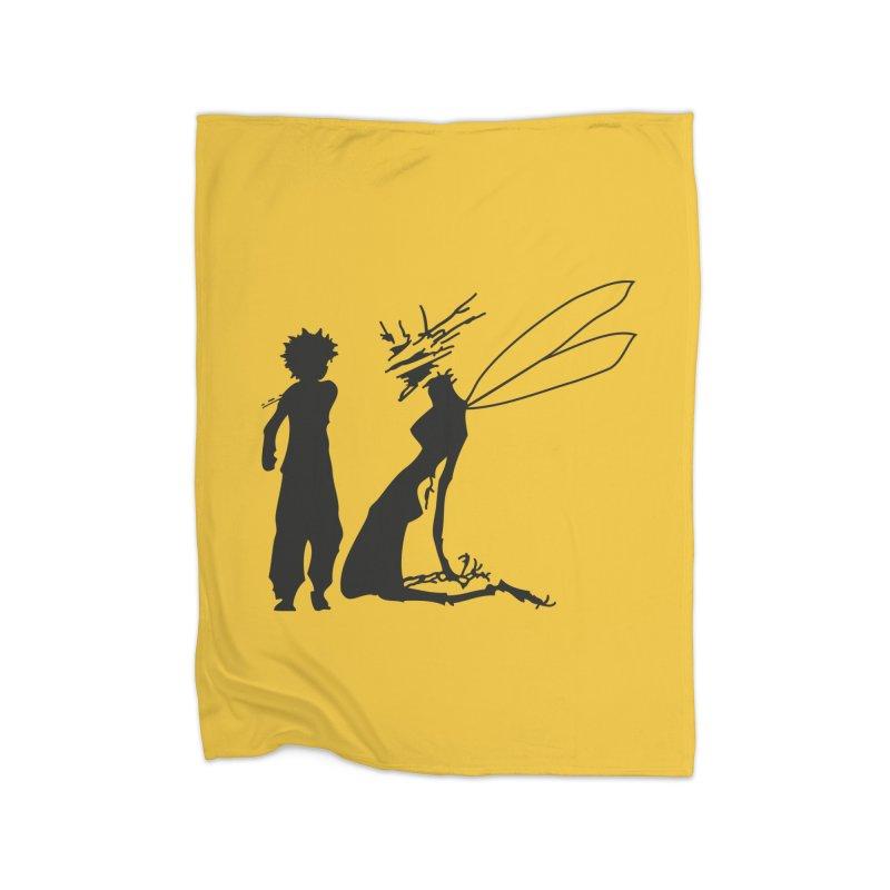 Killua kills Home Blanket by Synner Design