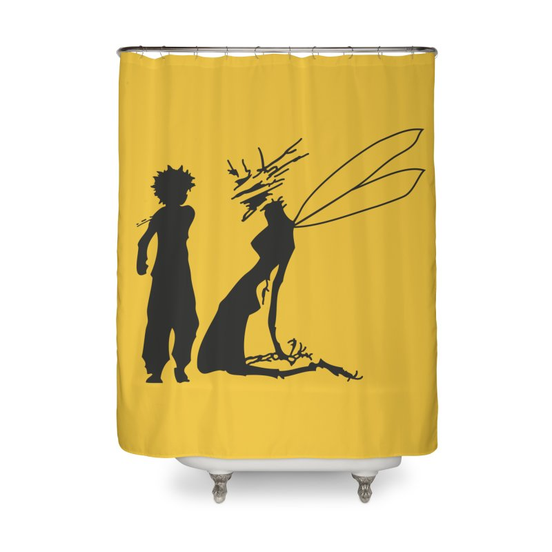 Killua kills Home Shower Curtain by Synner Design