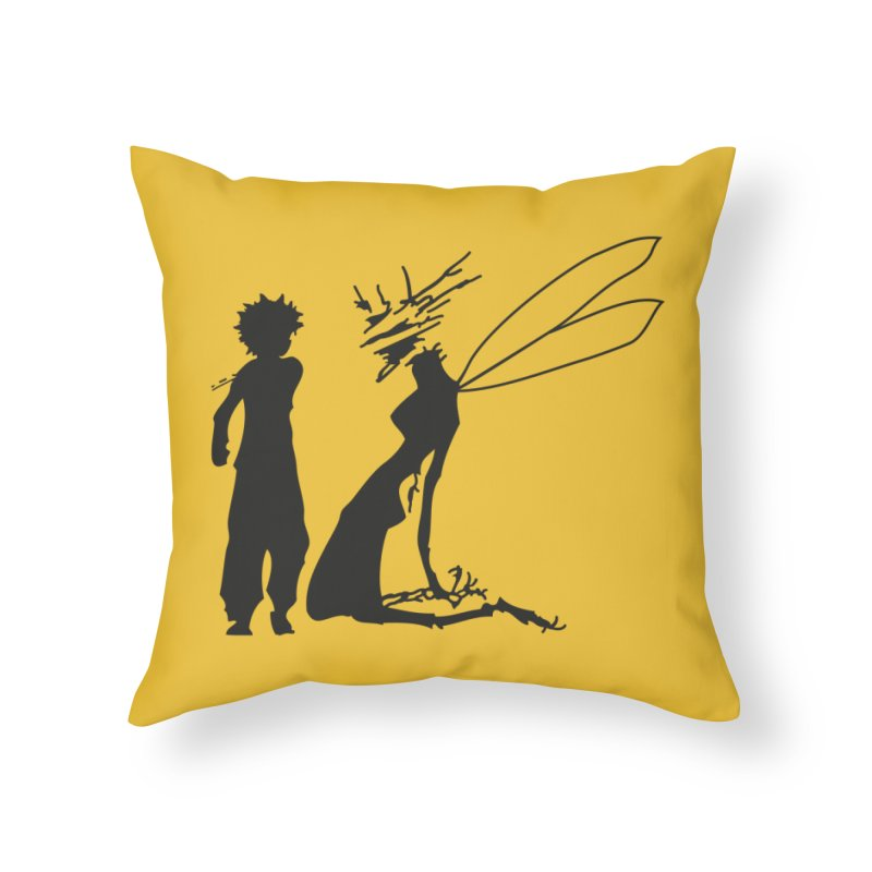 Killua kills Home Throw Pillow by Synner Design
