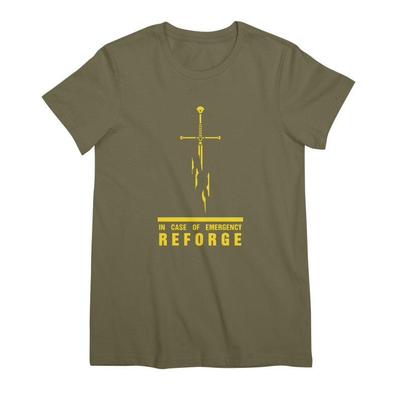 Narsil the sword Women's Premium T-Shirt by Synner Design