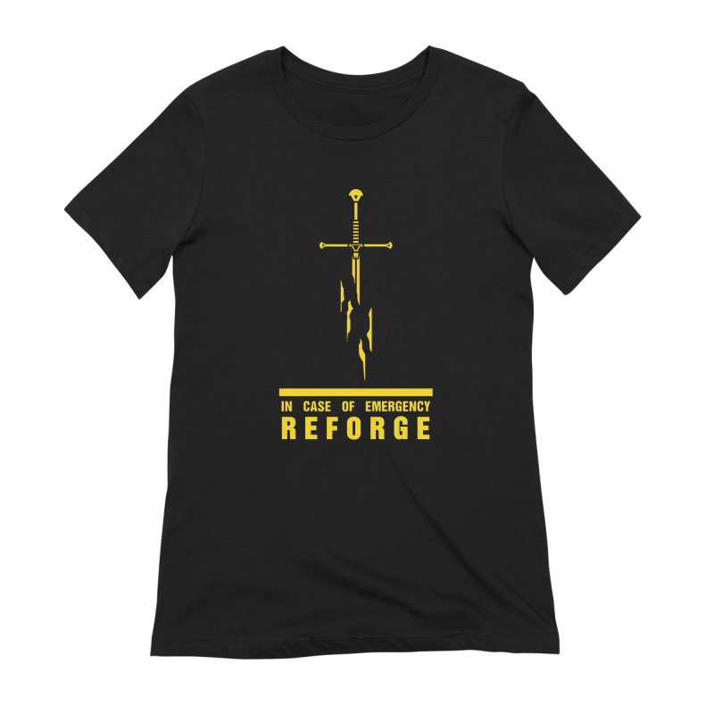 Narsil the sword Women's Extra Soft T-Shirt by Synner Design