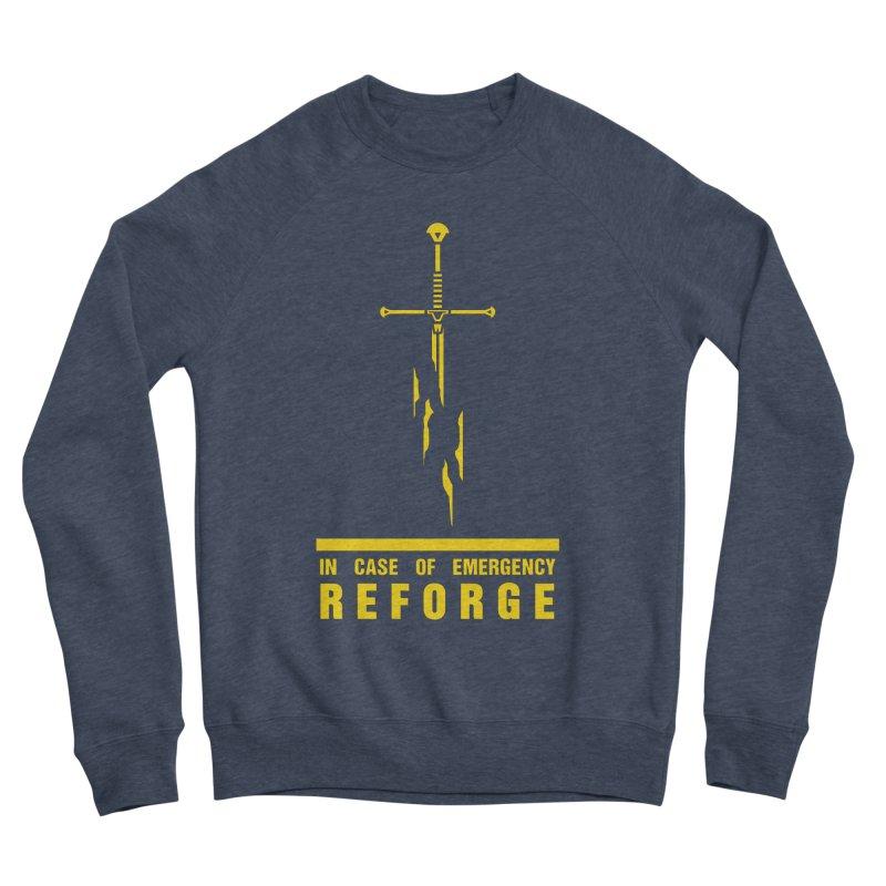 Narsil the sword Men's Sponge Fleece Sweatshirt by Synner Design
