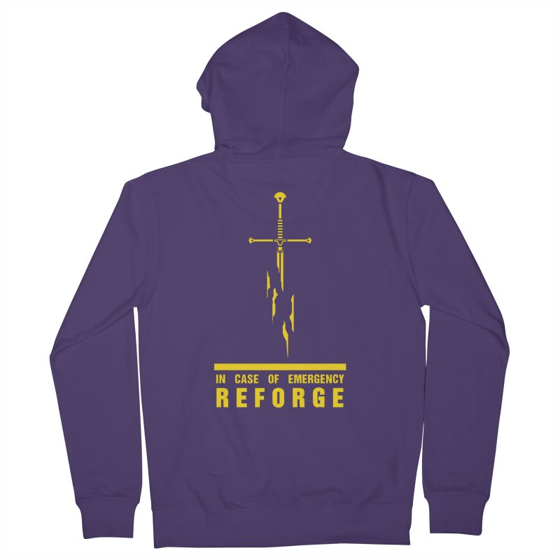 Narsil the sword Women's Zip-Up Hoody by Synner Design