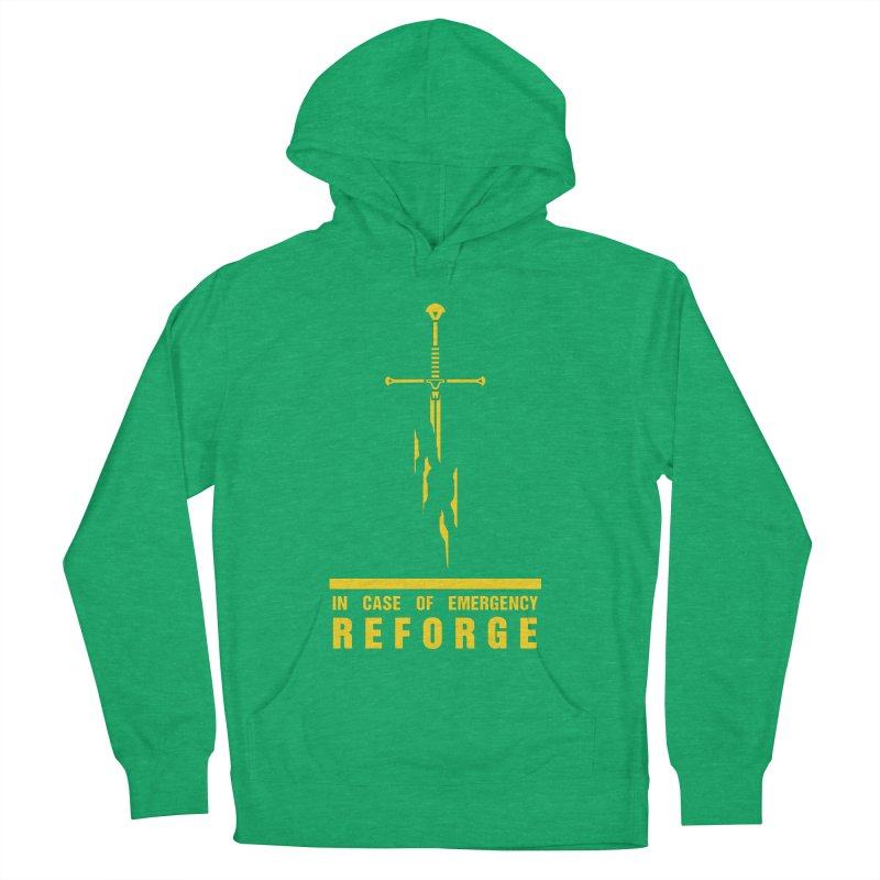 Narsil the sword Men's French Terry Pullover Hoody by Synner Design