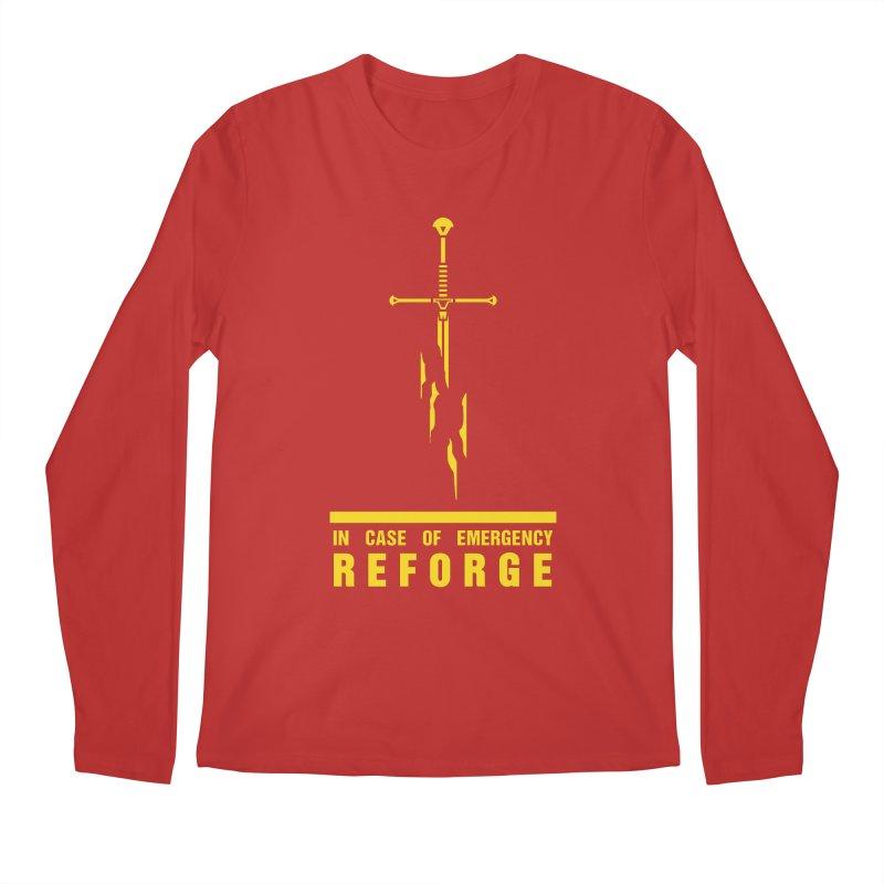 Narsil the sword Men's Longsleeve T-Shirt by Synner Design