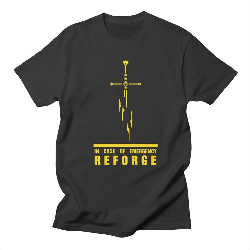 Narsil the sword Men's T-shirt by Synner Design