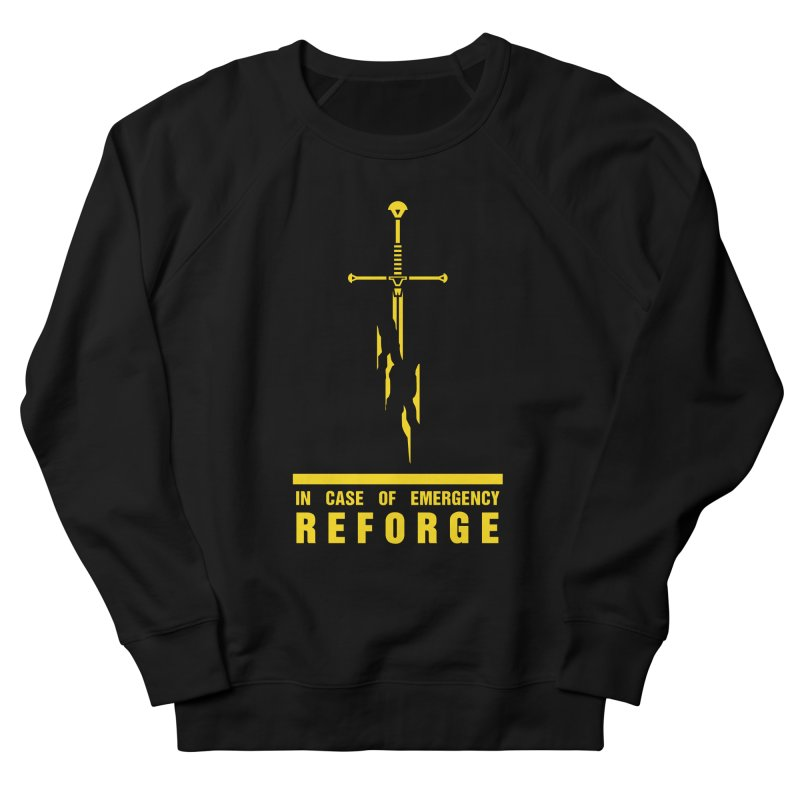 Narsil the sword Women's French Terry Sweatshirt by Synner Design