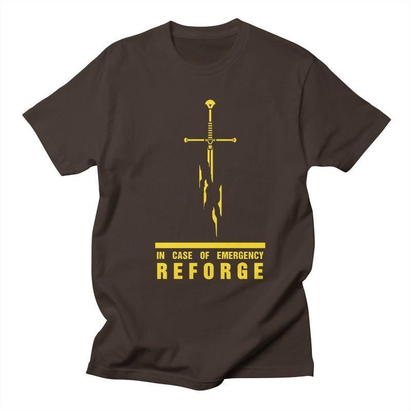 Narsil the sword Men's Regular T-Shirt by Synner Design