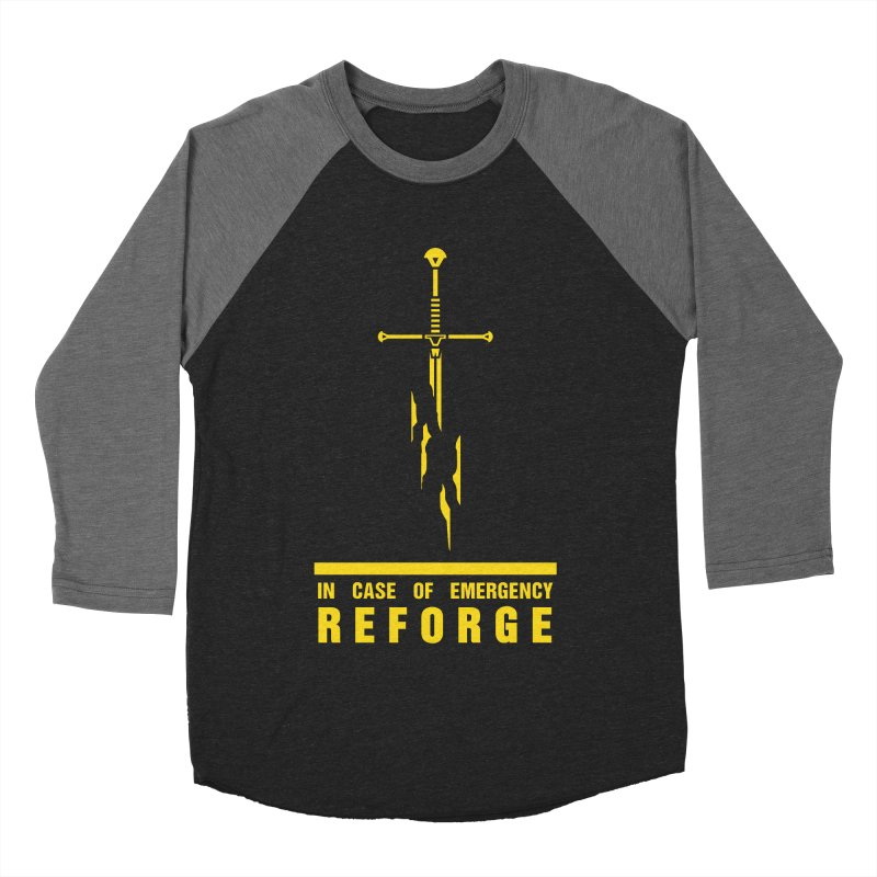 Narsil the sword Women's Baseball Triblend T-Shirt by Synner Design
