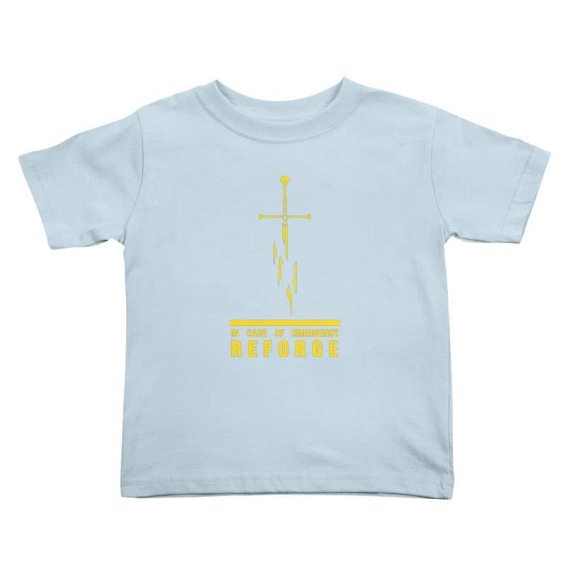 Narsil the sword Kids Toddler T-Shirt by Synner Design