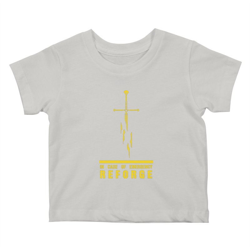 Narsil the sword Kids Baby T-Shirt by Synner Design