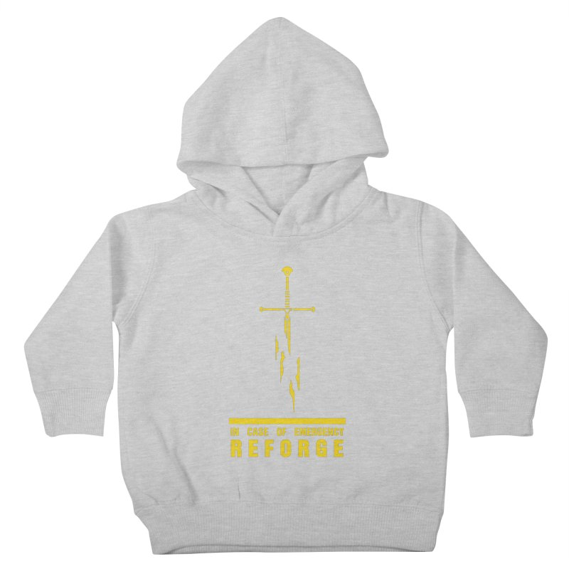 Narsil the sword Kids Toddler Pullover Hoody by Synner Design