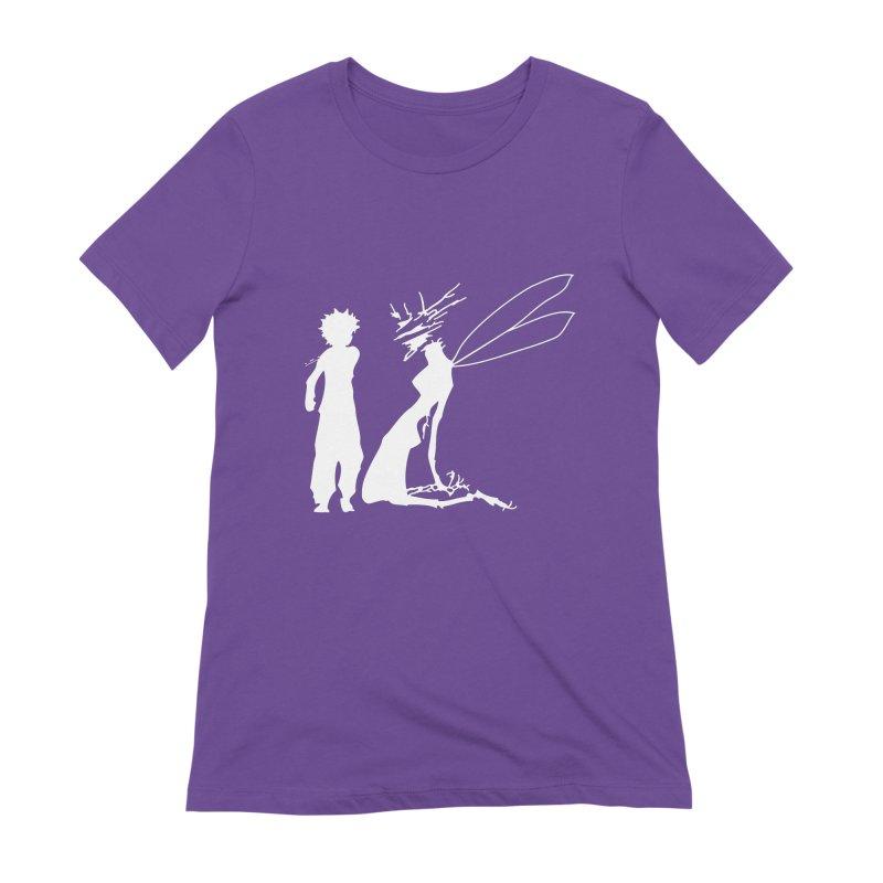 Killua white Women's T-Shirt by Synner Design