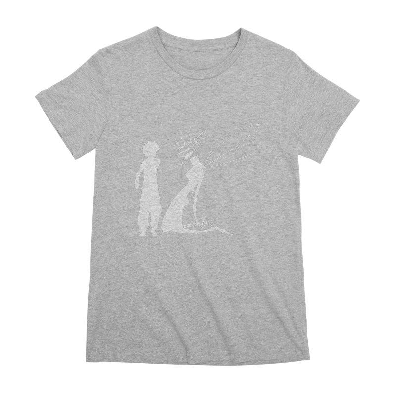 Killua white Women's Premium T-Shirt by Synner Design