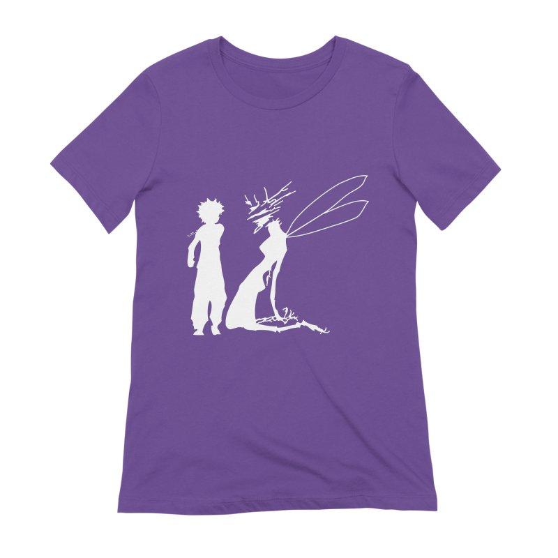 Killua white Women's Extra Soft T-Shirt by Synner Design