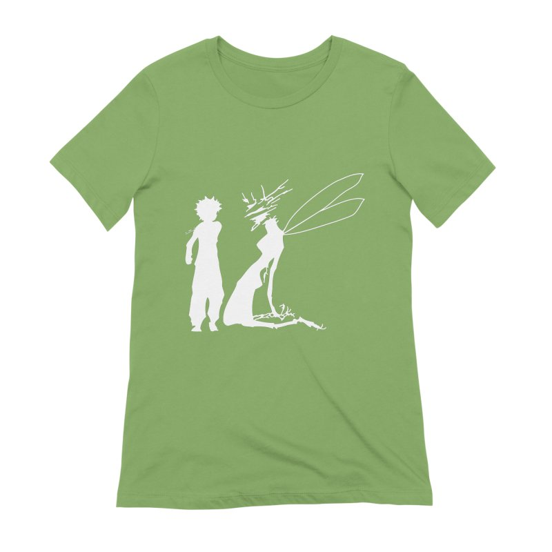 Killua white Women's Extra Soft T-Shirt by Synner Design