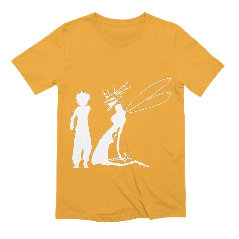 Killua white Men's Extra Soft T-Shirt by Synner Design