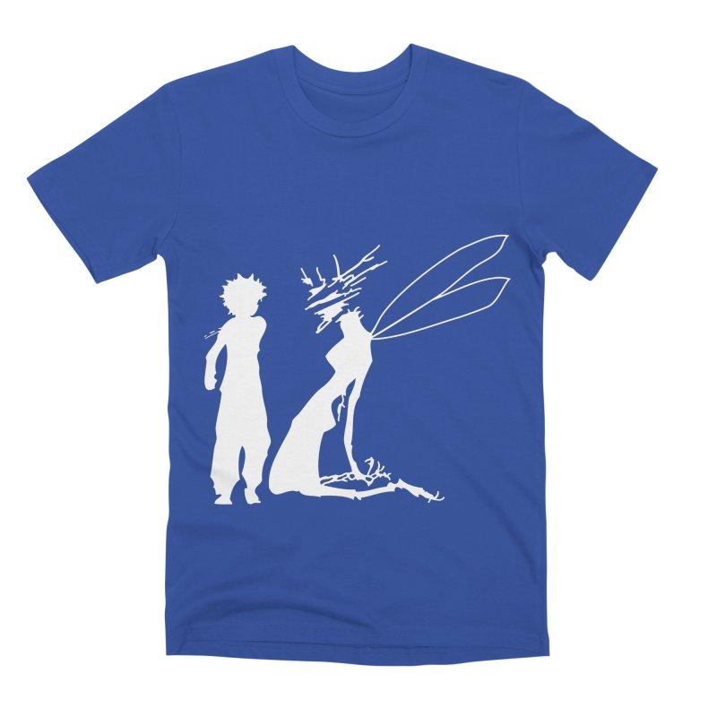 Killua white Men's Premium T-Shirt by Synner Design