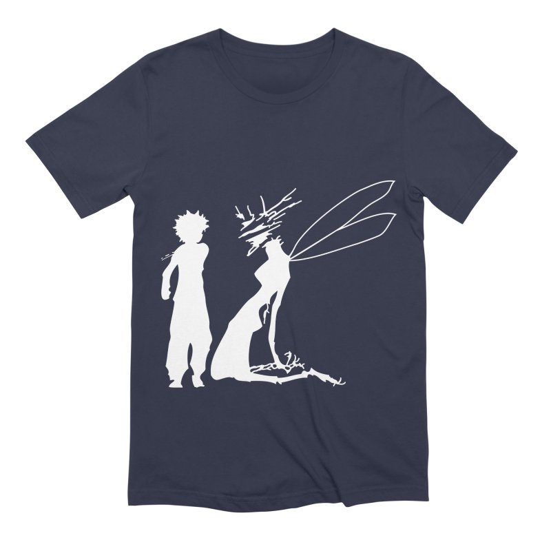 Killua white Men's Extra Soft T-Shirt by Synner Design